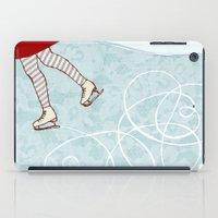 Ice Skating iPad Case