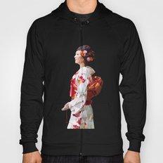 Polygonal Kimono girl 2 Hoody