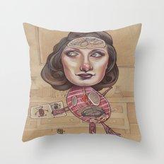ANATOMY LESSON Throw Pillow