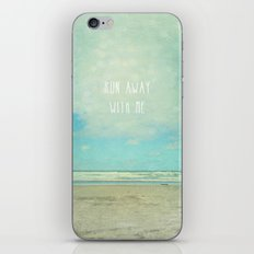 run away with me iPhone & iPod Skin