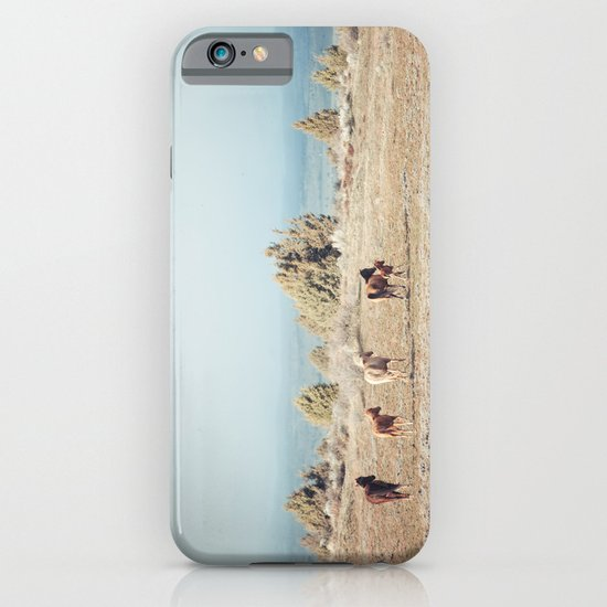 Oregon Wilderness Horses iPhone & iPod Case
