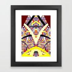 Left Or Right Framed Art Print