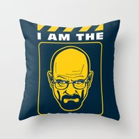 I Am The Danger Throw Pillow