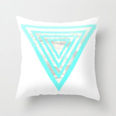 just let it go Throw Pillow