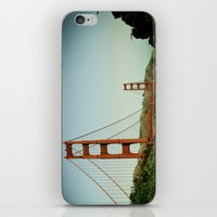 The Golden Gate Bridge at Day iPhone & iPod Skin
