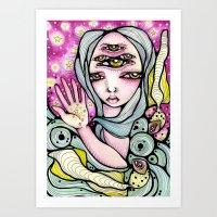 Meredith Art Print