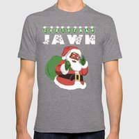 Christmas Jawn Mens Fitted Tee Tri-Grey SMALL