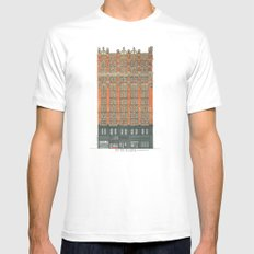 Don't Forget to Look Up: Potter Building Mens Fitted Tee White SMALL