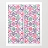 PAISLEYSCOPE tile Art Print