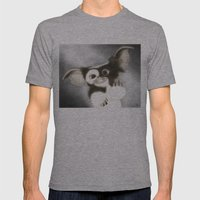 F*** OFF GIZMO Mens Fitted Tee Athletic Grey SMALL