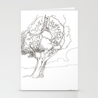 Let It Be Like Breathing Stationery Cards
