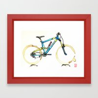 Coffee Wheels #14 Framed Art Print