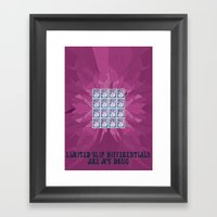Limited Slip Differentia… Framed Art Print