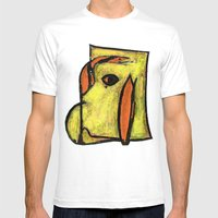 Network Mens Fitted Tee White SMALL