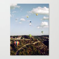 Canvas Print featuring Believe in me by  Maʁϟ