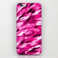 Designer Camo in Hot Pink iPhone & iPod Skin