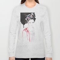 Watercolor Illustrations Long Sleeve T-shirt