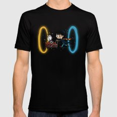 Harry Portal SMALL Black Mens Fitted Tee