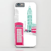 iPhone & iPod Case featuring London  by bluebutton studio