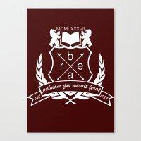 Academic Crest Canvas Print