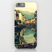 Moody Canal In Annecy, F… iPhone 6 Slim Case