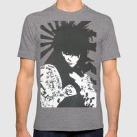 Siouxsie & The Banshees Mens Fitted Tee Tri-Grey SMALL