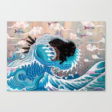 The Unstoppabull Force Canvas Print