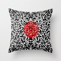 Virus Throw Pillow