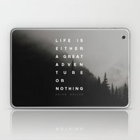 Adventure or Nothing Laptop & iPad Skin