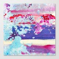 Color Splash #4 Canvas Print