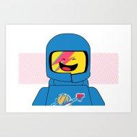 Spaceship! Oddity Art Print