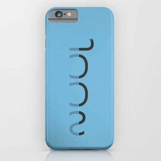 Loch Ness Typo iPhone & iPod Case
