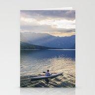 Bohinj Lake Stationery Cards