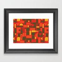Brew City Framed Art Print