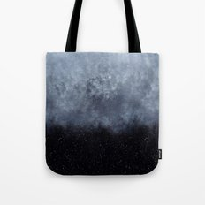 Blue Veiled Moon II Tote Bag