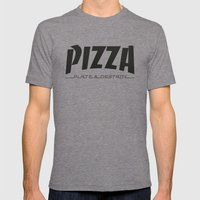 Thrash WHT Mens Fitted Tee Tri-Grey SMALL