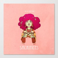 Sacrifices Canvas Print