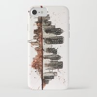 nyc iPhone & iPod Cases featuring NYC by Rosalia Mendoza