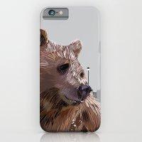 Cityscape Bear iPhone 6 Slim Case