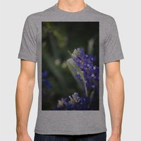Blue Morning Dew Mens Fitted Tee Athletic Grey SMALL