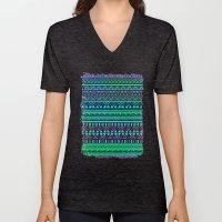 Inspired Aztec Pattern 4 Unisex V-Neck