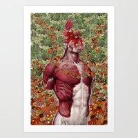 Wellness Anatomical Coll… Art Print