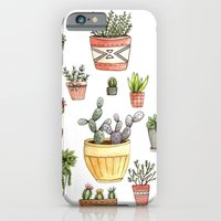 iPhone & iPod Case featuring Potted Succulents by Brooke Weeber