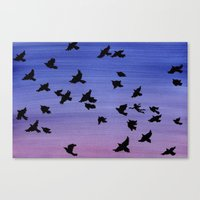 I won't apologize for being a bird Canvas Print