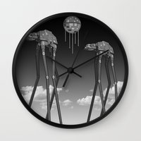 Dali's Mechanical Elepha… Wall Clock