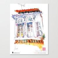 "Paul Wang, ""Shophouse … Canvas Print"