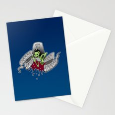 Pretty girls make graves Stationery Cards