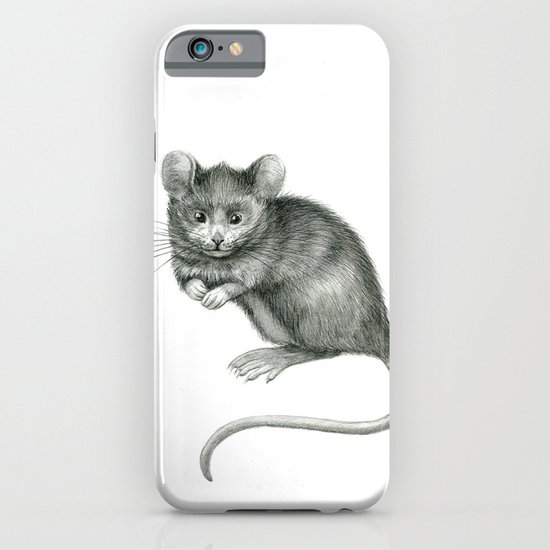 Funny mouse SK049 iPhone & iPod Case