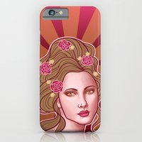 iPhone & iPod Case featuring Amelia by SL Scheibe
