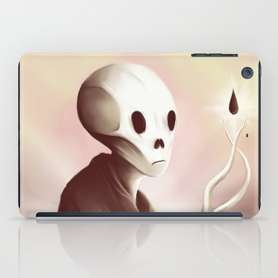 oil worshipper iPad Case